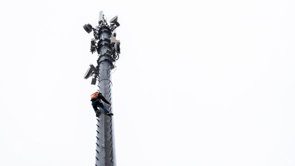 SecuRope, Vertical fall protection system, safety, work in heights