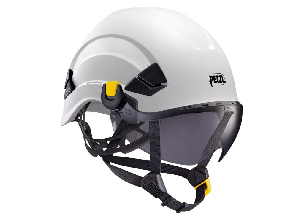 TINTED EYE SHIELD WITH EASYCLIP SYSTEM
