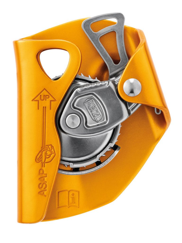 PETZL-ASAP LOCK MOBILE FALL ARRESTER WITH LOCKING FUNCTION