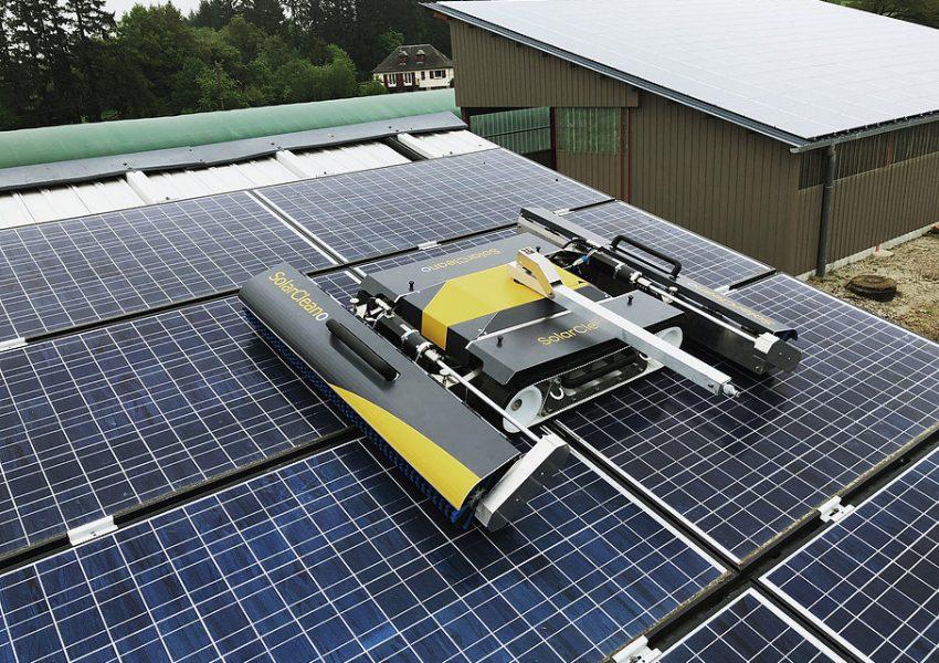 SolarCleano Robotic Solar Panels Cleaning